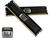 OCZ NVIDIA SLI Ready XTC PC2-8000 4GB 2X2GB DDR2-1000 CL5-5-4-15 240PIN Dual Channel Memory Kit (OCZ Technology: OCZ2N1000SR4GK)