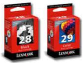 Lexmark #28/#29 Black and Color Ink Cartridge Multipack (Lexmark: 53A3805)
