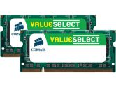 CORSAIR 8GB (2 x 4GB) 200-Pin DDR2 SO-DIMM DDR2 800 (PC2 6400) Laptop Memory (Corsair: VS8GSDSKIT800D2)