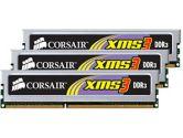 Corsair XMS3 TR3X6G1600C8 6GB DDR3 3X2GB DDR3-1600 CL 8-8-8-24 Core i7 Memory Kit (Corsair: TR3X6G1600C8)