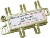 Cables To Go 2150 MHZ Four-Way Splitter (Cables To Go: 41022)