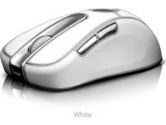 Radtech BT600 Bluetooth 5 Buttons + Scroll Wheel 1600dpi Laser Mouse - White (Radtech: BT600W)