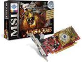 MSI N8400GS-TD512 nVidia GeForce 8400GS Chipset  Dual Display PCI Express 2.0 Graphics Card (MSI: MS-V116-050)