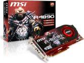 MSI Radeon HD 4890 850MHZ 1GB GDDR5 HDMI DVI Crossfirex PCI-E Video Card (MSI/MicroStar: R4890-T2D1G)
