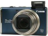 Canon PowerShot SX200 IS Blue 12.1 MP 28mm Wide Angle Digital Camera (Canon: 3510B001)