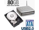 DLink DSM-G600 Wireless Storage Enclosure with Seagate Barracuda Hard Drive Bundle - 80GB (D-Link: DLink DSM-G600 80GB Bundle)