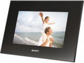 """Sony's DPFD72 7"""" Digital Photo Frame featuring a WVGA Clear Photo LCD, 1GB of Internal Memory and Search functionality (SONY: DPFD72)"""
