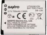 Sanyo DB-L80U Lithium-Ion Battery Pack (3.7V, 700mAh) (Sanyo: DB-L80AU)