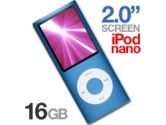 Apple MB905ZY/A iPod Nano 4th Generation - 16GB, 2 Widescreen LCD, Blue (Apple: MB905ZY/A)