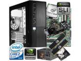XFX 680i LT SLI Ready Barebone Kit w/ 9800GT Video Card - Intel Core 2 Quad Q6700 OEM, 4GB OCZ SLI DDR2-800, 500GB SATA2, ATX Case, 750W (XFX: XFX 680i LT SLI Ready Barebonet w/ Q6700 & 9800GT)