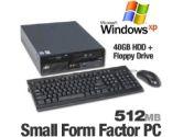 IBM ThinkCentre S51 Desktop Computer - Intel Pentium 4 3GHz, 512GB, 40GB HDD, CDRW/DVD combo, Windows XP Pro, (IBM: IBM8171Y6BRM)