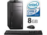 Lenovo IdeaCentre K230 53594BU Desktop Computer - Intel Core 2 Quad Q8200 2.3GHz, 8GB DDR2, 1TB, DVDRW, Gigabit LAN, Vista Home Premium 64 (Lenovo: 57093719)