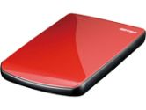 Buffalo MiniStation Cobalt Ruby Red 250GB Portable External Hard Drive USB 2.0 (Buffalo: HD-PE250U2/RD)