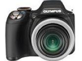 OLYMPUS SP-590UZ Black 12.0 MP 26mm Wide Angle Digital Camera (Olympus: 226755)