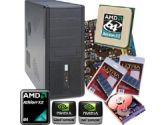 Asus M2N68-AM SE2 Barebone Kit - Socket AM2, GeForce 7025, AMD Athlon X2 6000+ OEM, 4GB DDR2-667, 320GB SATA2, ATX Case, 300W PSU (Asus: ASUS M2N68-AM SE2 Kit w/ AMD X2 6000+, 4GB, 320GB)