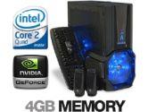 CybertronPC Vortex TPCVINN1140B Gaming PC - Intel Core 2 Quad Q6600, 4GB DDR2-800, 500GB, DVDRW, 9800GTX+, 600W, Vista Home Premium 64-bit (Cybertron: TPCVINN1140B)