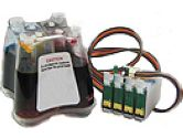 PeriPower E4-NX100 Continuous Ink Supply System for Epson NX100 Printers (PeriPower: E4-NX100)