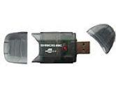 Power Data Mini 9 In 1 USB2.0 External Card Reader/Writer For SD Card (Power Data: CARDREADER-SDCR-BK)