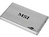 "MSI StarTray 2.5"" Aluminum Enclosure  For 2.5"" IDE Hard Drive (MSI: S1H-0400030-G62)"