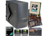 ASUS M3N78 PRO Barebone Kit - Socket AM2+/AM2, GeForce 8300, AMD Athlon X2 6000+ 3.10GHz OEM, B2 Stealth Bomber Case, 750W Corsair PSU (Asus: Asus M3N78 PRO w/ X2 6000+, B2 Stealth Case, 750W)