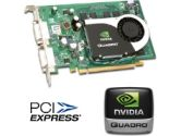 PNY Quadro FX 570 Workstation Graphics Card - 256MB DDR2 , PCI Express 1.0 x16,  Dual DVI, Dual VGA Support, OEM (PNY: VCQFX570PCIEPB OEM)