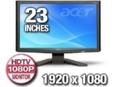 "Acer X233Hbd Black 23"" 5ms Widescreen LCD Monitor (Acer: ET.VX3HP.003)"