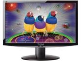Viewsonic VX2233wm, 22in Digital Active Matrix TFT Wide-Screen LCD , Black (: VX2233WM)