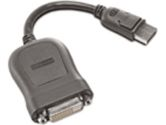 Lenovo DisplayPort to Single Link DVI-D Monitor Cable 7.8IN (Lenovo: 45J7915)