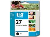 HP #27 Black Inkjet Cartridge (Hewlett Packard: C8727AC#140)