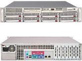 Supermicro Superchassis SC825TQ-710LPV 2U 8XSAS 7LP 710W DC Silver (SuperMicro: CSE-825TQ-710LPV)