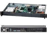SUPERMICRO CSE-502L-200B Black 1U Rackmount Mini Server Chassis (SuperMicro: CSE-502L-200B)