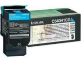 Lexmark High Yield Return Program Cyan Toner Cartridge for C540 C543 X543 (Lexmark: C540H1CG)