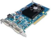 Sapphire Radeon HD 4650 600MHZ 1GB 400MHZ DDR2 AGP Dual DVI-I Video Card (SAPPHIRE: 11156-01-20R)