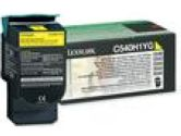 Lexmark High Yield Return Program Yellow Toner Cartridge for C540 C543 X543 (Lexmark: C540H1YG)