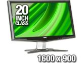 "Acer G205Hbmd Black 20"" 5ms Widescreen LCD Monitor Built-in Speakers (Acer: ET.DG5HP.001)"