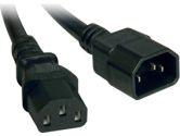 Tripp Lite 6FT AC Pwr Cord C13/C14 100-230V 15A 14AWG Sjt (TRIPP LITE: P005-006)