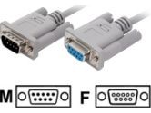 3FT 9-PIN MALE TO FEMALE MODEM CABLE (Startech Computer Products: MC93MF)
