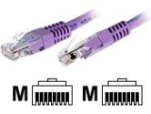 3FT CAT5E RJ45 UTP NTWK PATCH CBL PURPLE (Startech Computer Products: M45PATCH3PL)