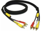 Video / audio cable - S-Video / composite video / audio - 4 pin mini-DIN; RCA - (Cables To Go: 29156)
