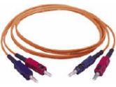 Fiber optic cable -2 x SC - Male -2 x SC - Male - 98 feet - Orange (Cables To Go: 20535)