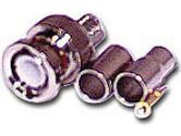 RG59/62 Crimp-On Connector - RG58 - Male - Silver (Cables To Go: 02053)