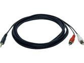 AV / multimedia cable - mini-phone stereo 3.5 mm  - 6 ft (Tripp Lite: P314-006)