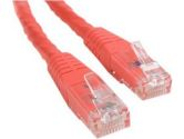 6FT CAT6 RED MOLDED PATCH CABLE - ETL VERIFIED (Startech Computer Products: C6PATCH6RD)