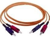 1m - 2 x SC, 2 x SC - Cable Multimode - Orange (Cables To Go: 33001)