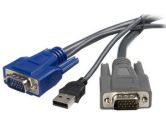 6'Ultra Thin USB VGA Cable (Startech Computer Products: SVUSBVGA6)