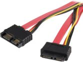 20IN SLIMLINE SATA EXTENSION CABLE - M/F (Startech Computer Products: SLSATA20EXT)