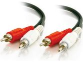6FT RCA RED  WHITE STEREO AUDIO CABLE (Cables To Go: 40464)