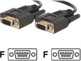 3FT DB9 F/F CABLE BLACK (Cables To Go: 25216)