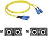 7M SC/SC DUPLEX SM 9/125 FIBER PATCH CABLE (Cables To Go: 37489)