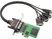 4PT RS-232 BRD DB25 CBL I UNIV PCI BUS 921.6 KBPS (MOXA TECHNOLOGIES INC: CP-104EL-DB25)